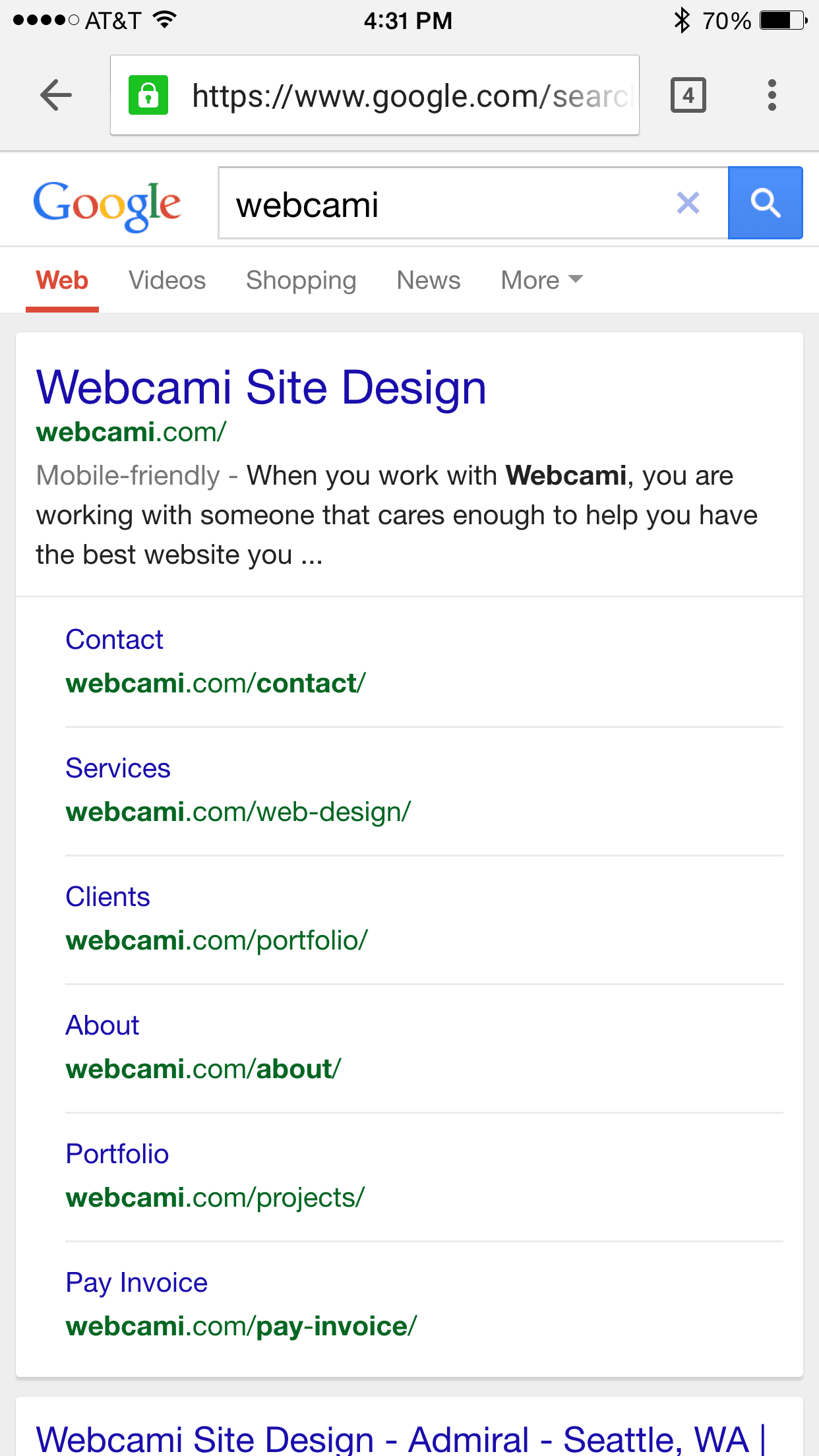 Mobile friendly TAG on mobile search results!