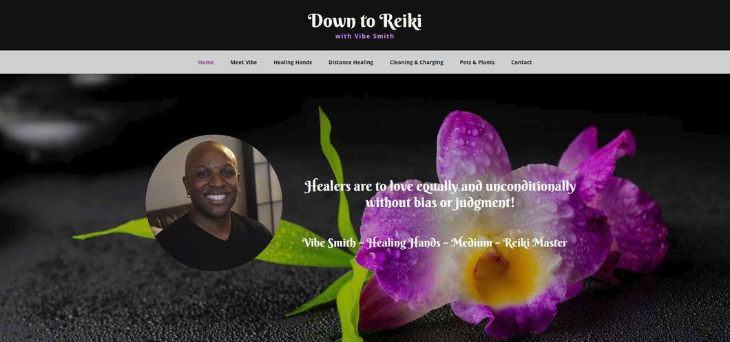 Down to Reiki website by Webcami