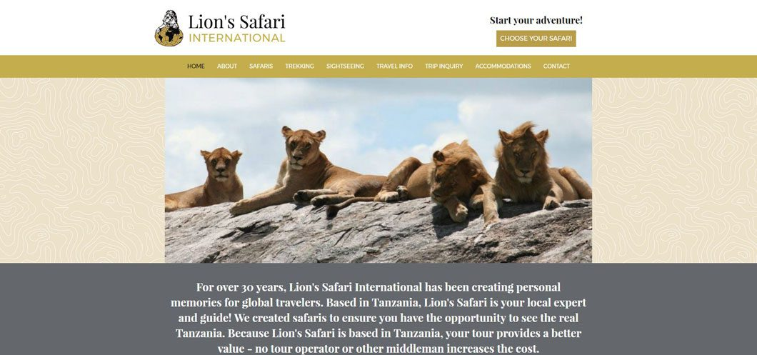 Lion's Safari International