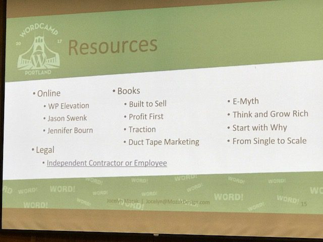 Resources from Mozak Design
