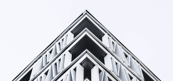 Photo of architecture accompanying article about website tips for the design build industry