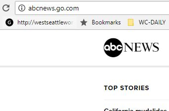 ABC news is not a secure site
