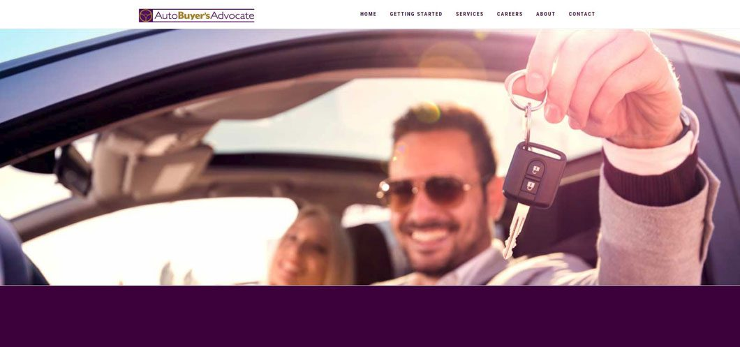 Auto Buyers Advocate website by Webcami