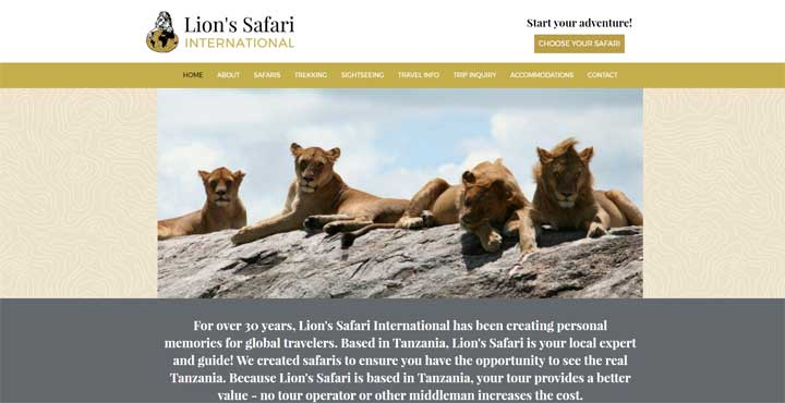 Lion's Safari International