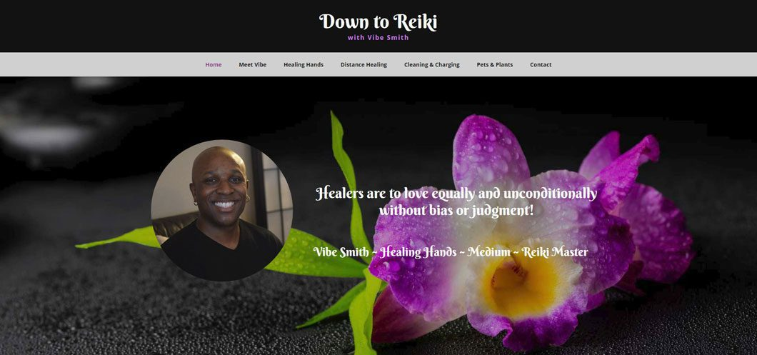 Down to Reiki website by Webcami