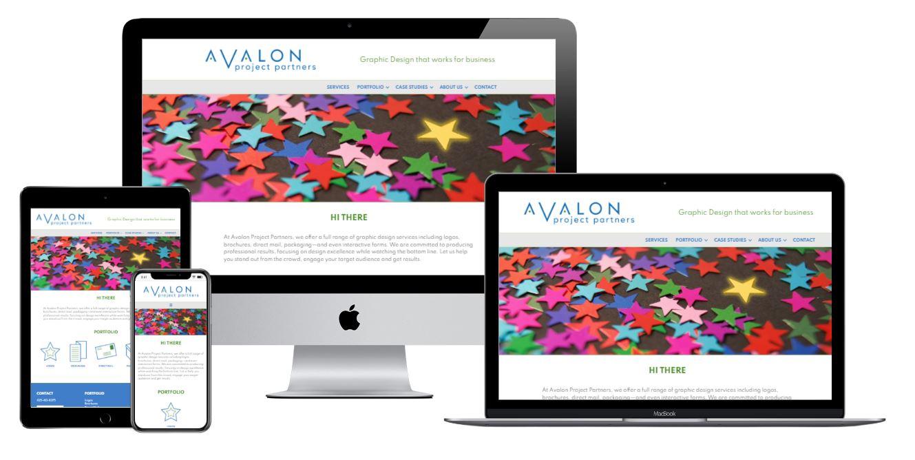 Avalon Project Partners Website by WebCami