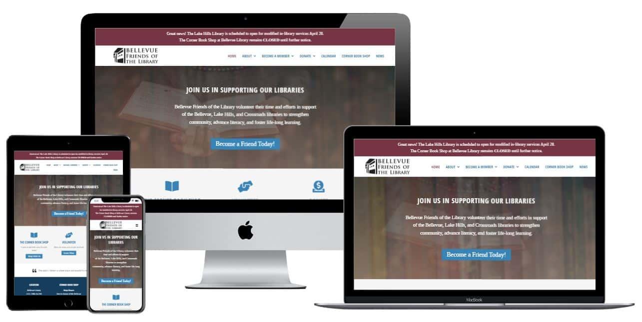 Bellevue Nonprofit website design