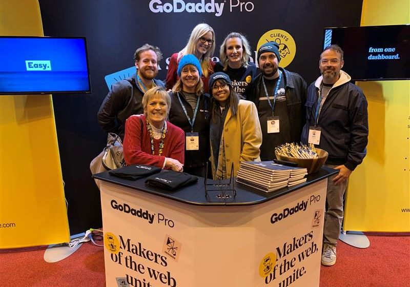 Cami attends WordCamp US with GoDaddy