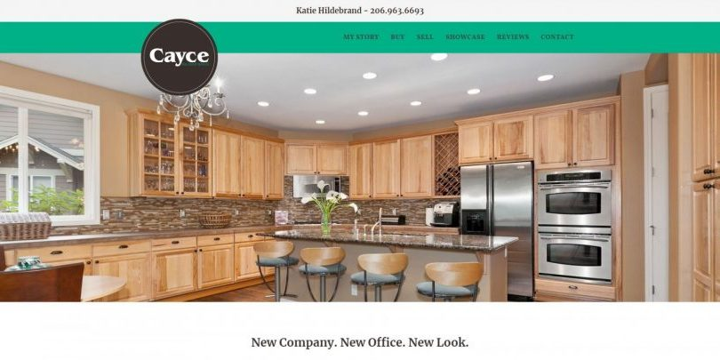 Seattle Realtor website by WebCami