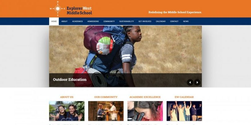 Seattle-school-website-design